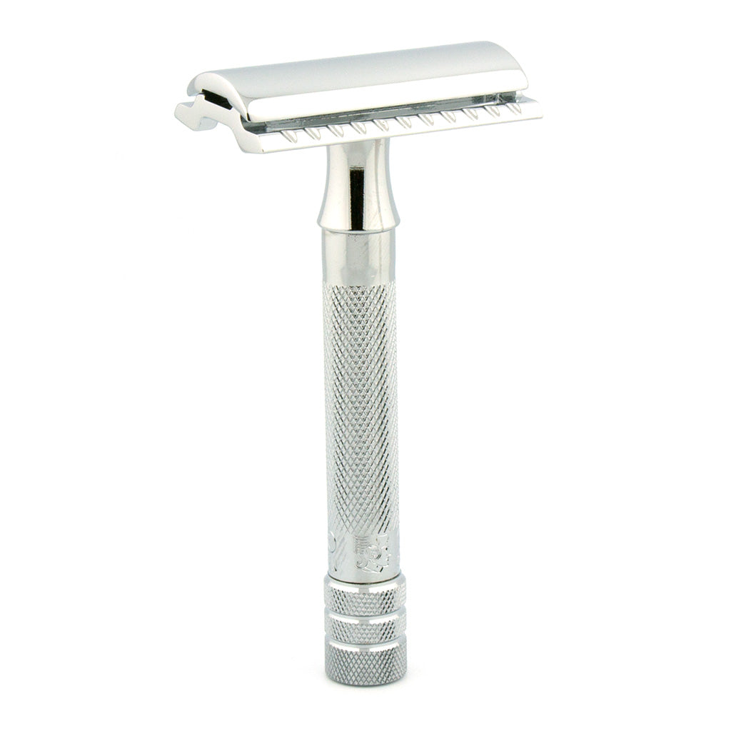 MERKUR 33C Safety Razor, Closed Comb, Chrome Plated