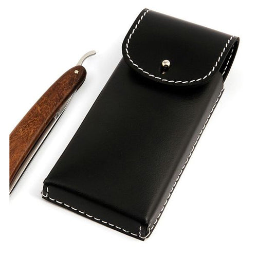 Timor Saddlery Leather Case / Pouch for 2 Straight Razors