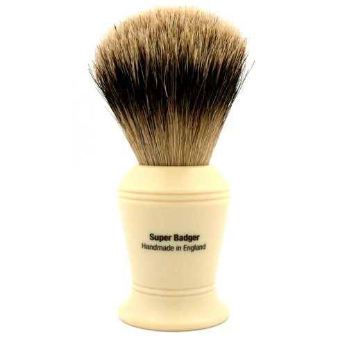 Vulfix 375 Super Badger, Imitation Ivory Handle Shaving Brush