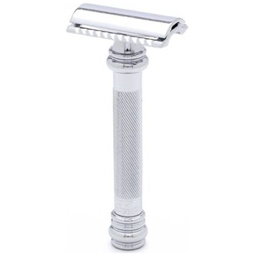 MERKUR 38C Heavy Duty Long Handle Double-Edge Razor