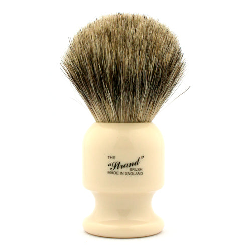 Vulfix 405 Pure Badger, Strand, Imitation Ivory Handle Shaving Brush