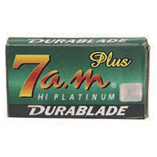7 am Hi Platinum Durablade, Double Edge Razor Blades Pack