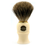 Vulfix 849 Pure Badger, Imitation Ivory Handle Shaving Brush
