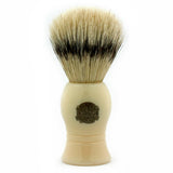 Vulfix 9 Pure Bristle, Imitation Ivory Handle Shaving Brush