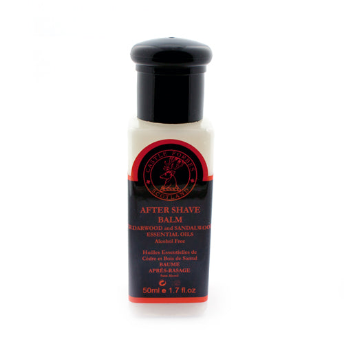 Castle Forbes Cedarwood and Sandalwood After Shave Balm, Alcohol Free, 50ml (Clearance)