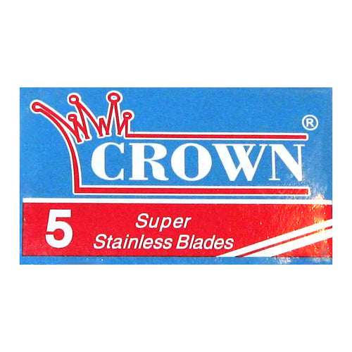CROWN Super Stainless Double Edge Blades