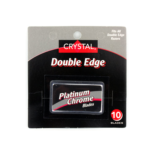 Crystal Double Edge Razor Blades