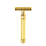 Edwin Jagger Safety Razor, Octagonal, Gold Plated
