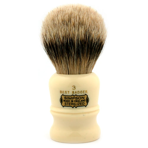 Simpsons Duke D3 Best Badger Shaving Brush