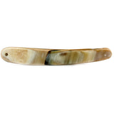 Light Color Real Horn Straight Razor Scale, 6/8""