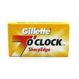 Gillette 7 O'Clock SharpEdge Double Edge Razor Blades