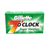 Gillette 7 O'Clock Super Stainless Double Edge Razor Blades