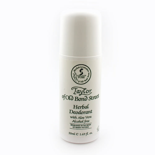 Taylor of Old Bond Street Herbal Roll-On Deodorant