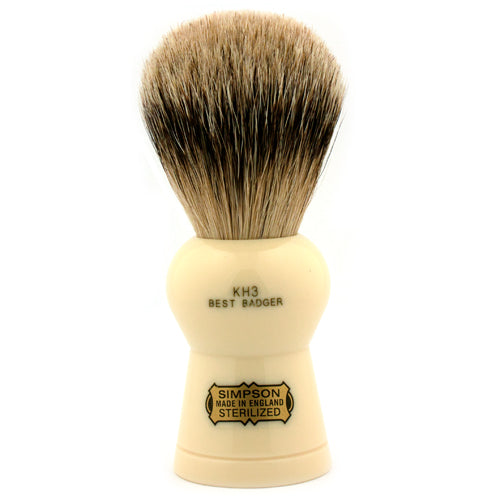 Simpsons Keyhole KH3 Best Badger Shaving Brush