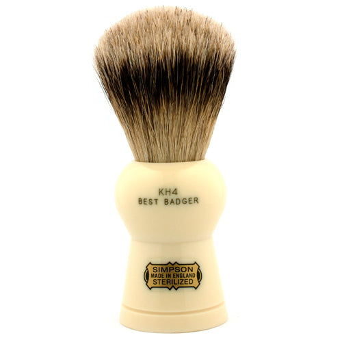 Simpsons Keyhole KH4 Best Badger Shaving Brush