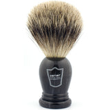 Parker King Size Pure Badger, Marbleized Handle Shaving Brush (Clearance)