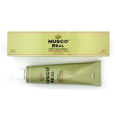 Musgo Real Lime Basil Scent Shaving Cream