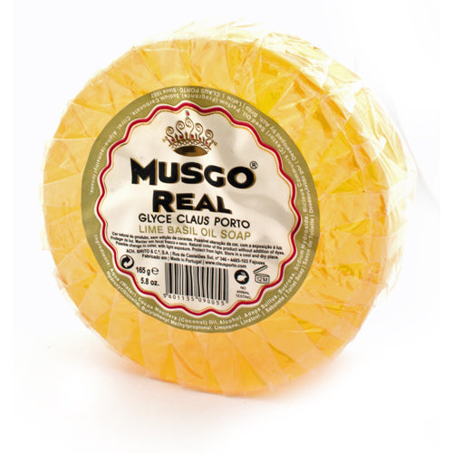 Musgo Real Lime Basil Pre-Shave Soap