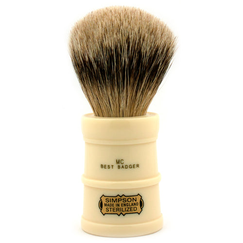 Simpsons Milk Churn Best Badger Shaving Brush