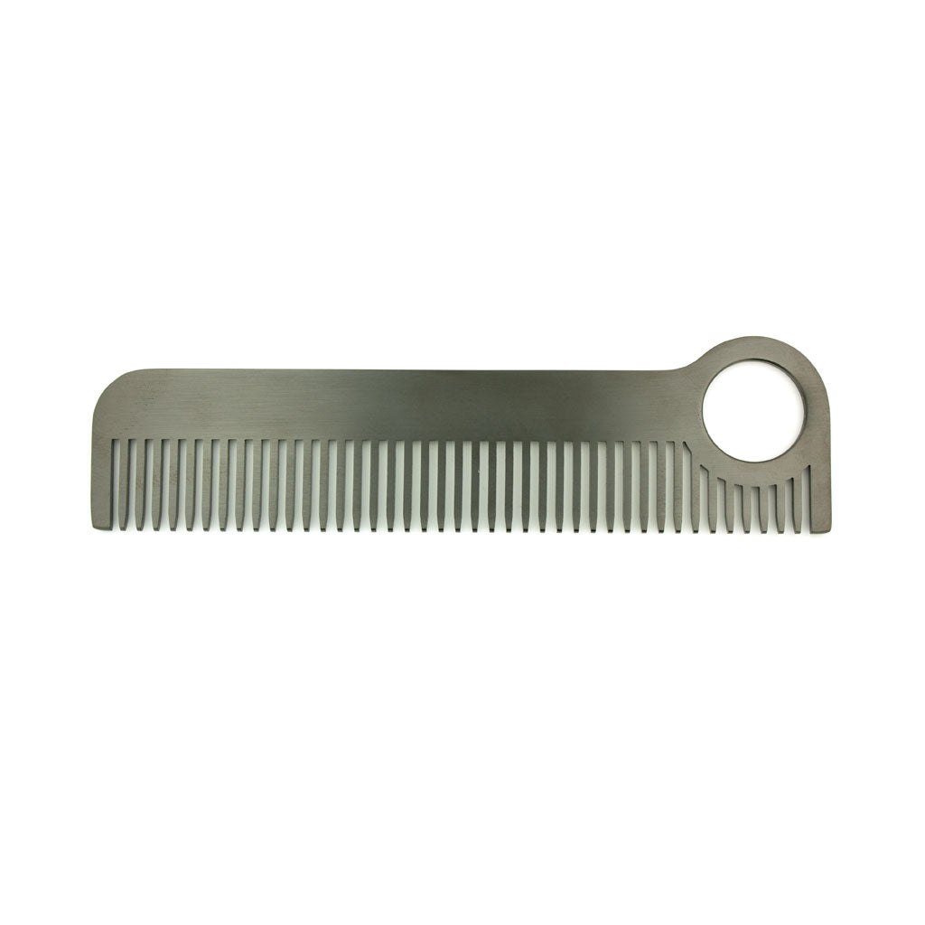 Chicago Comb Co. Model 1 Hair Comb, Black