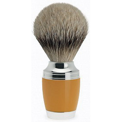 "Muhle ""Stylo"" Silvertip Shaving Brush, High-Grade Resin"