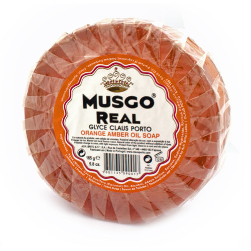 Musgo Real Orange Amber Oil Pre-Shave Soap