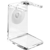 Edwin Jagger Clear Plastic Brush Drip Stand, Large Neck