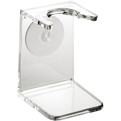 Edwin Jagger Clear Plastic Brush Drip Stand, Small Neck