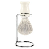 Edwin Jagger Shaving Brush Stand, Nickel Plated, Small