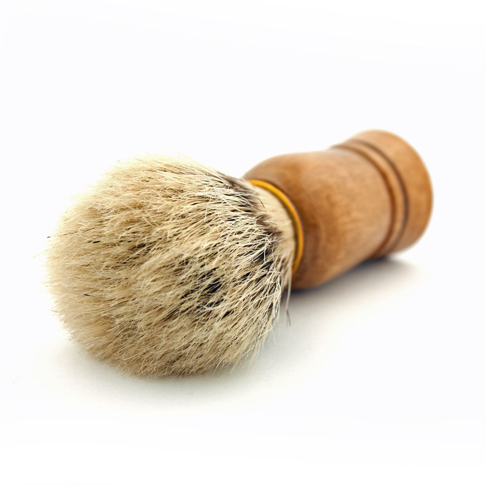 Vie-Long Bristle, Wood Handle Shaving Brush