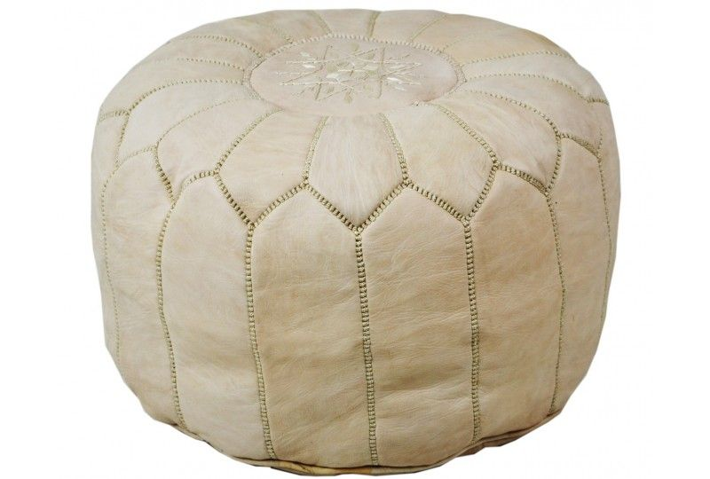 Lot 2 Poufs design - Artisanat Shop