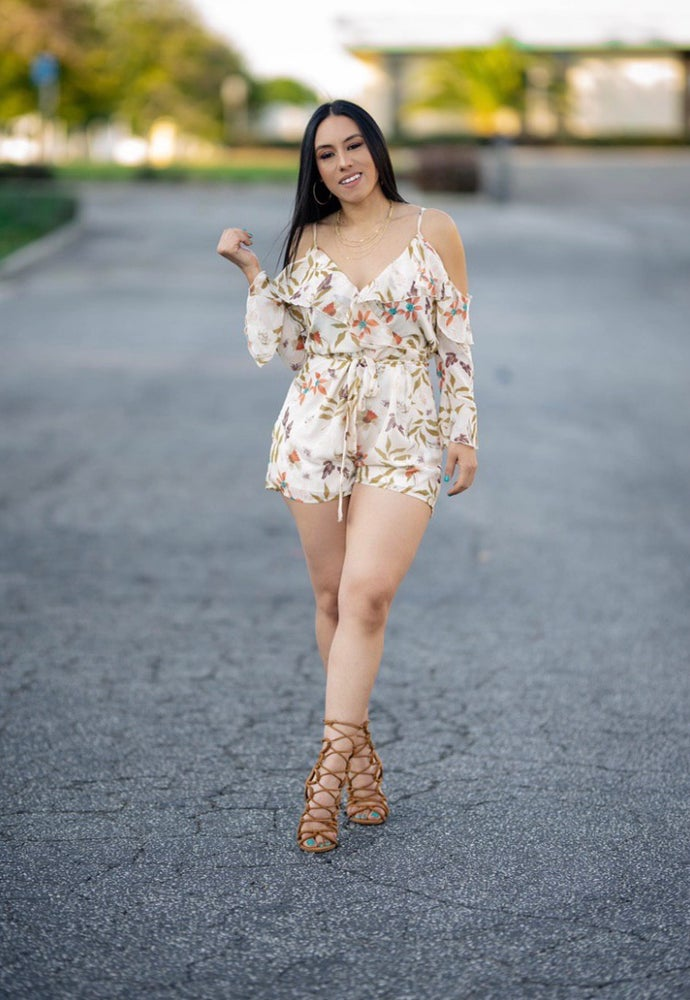 Hermosa leaves Romper