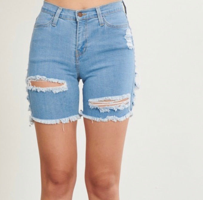 L.A Water Distressed Shorts