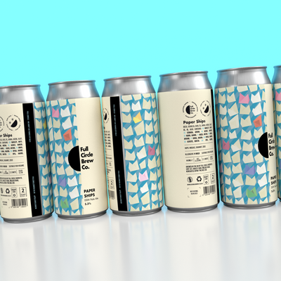 Paper Ships | DDH Pale, 5.3% | 440ml (Post Purchase Promo - 8 Cans)