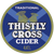 1 Litre Growler - Thistly Cross - Traditional Cider - 4.4% - £5.60 / L