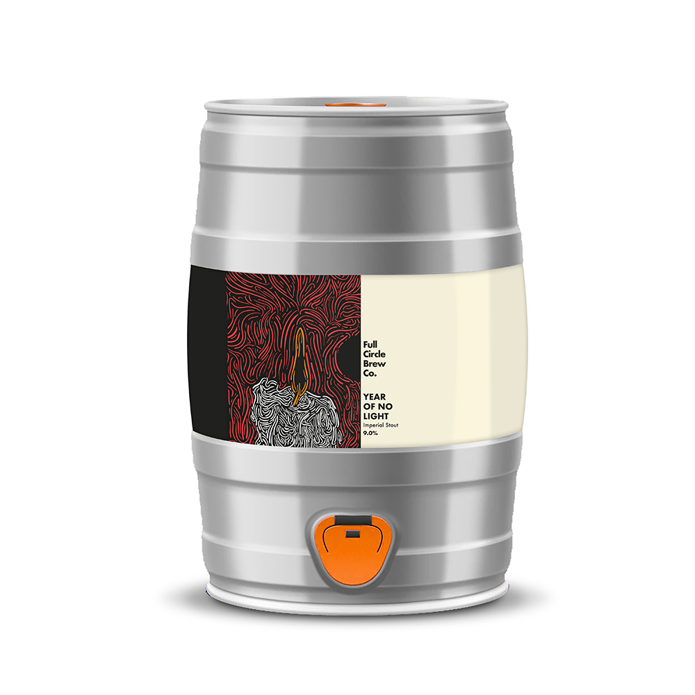 Year of No Light, Imperial Stout, 9.0% - 5L Mini Keg