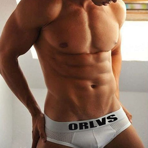 ORLVS Mesh Briefs White