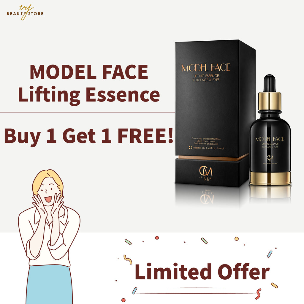 MODEL FACE 瘦面紧緻精华 - 买一送一! Model Face Lifting Essence – Buy 1 Get 1 FREE!