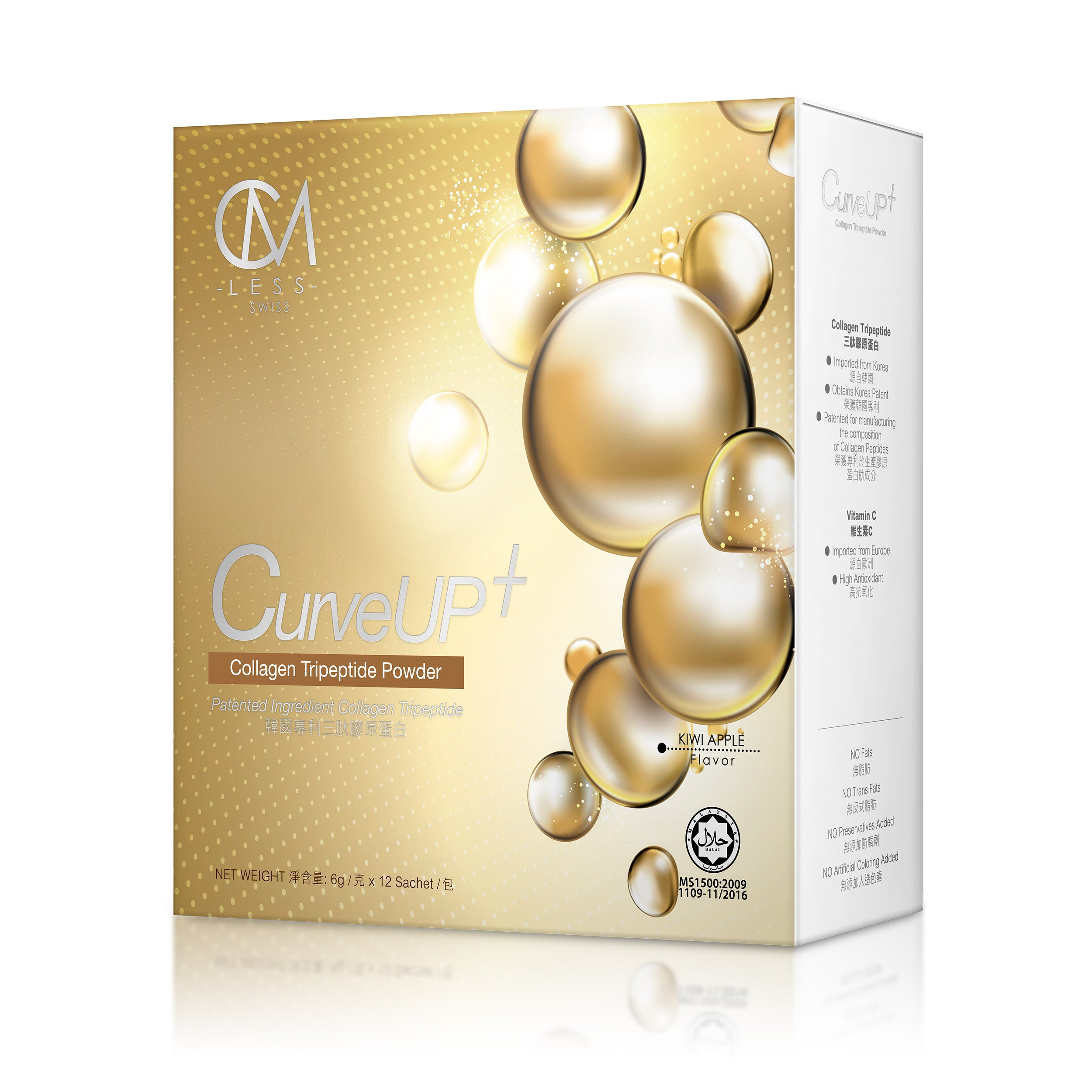 CURVE UP+ COLLAGEN TRIPEPTIDE BEAUTY DRINKS