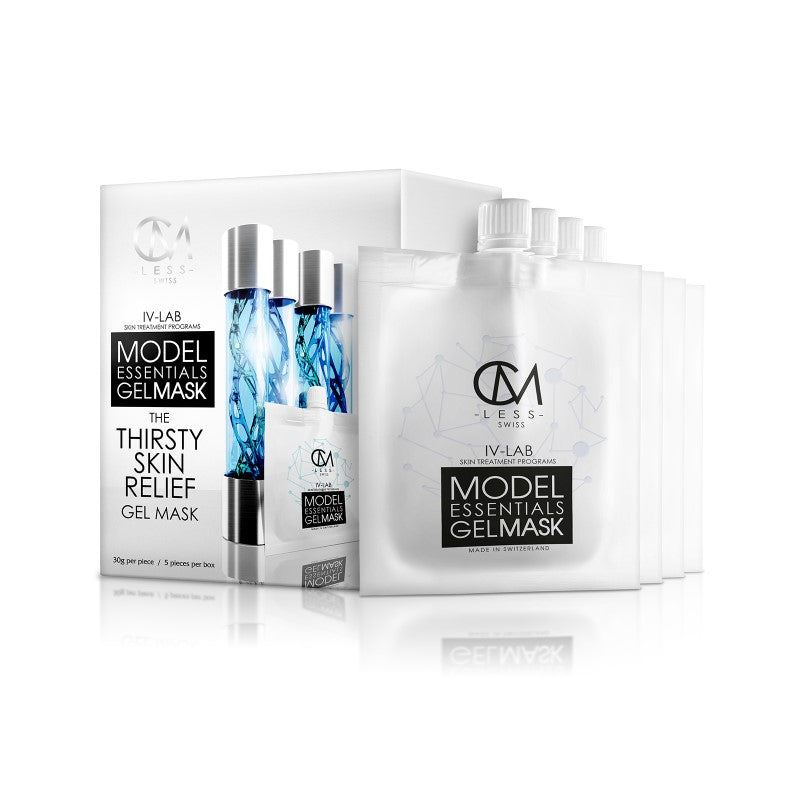 Model Essentials Gel Mask - The Thirsty Skin Relief Gel Mask 解渴水凝面膜