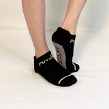 Ankle Sock- Black/White
