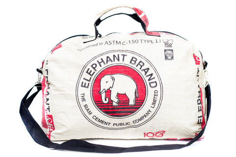 Cement Elephant Duffel Bag