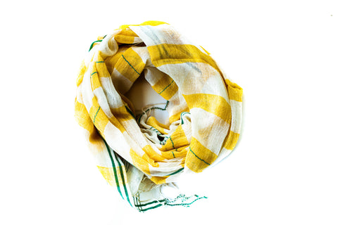 Hannah Yellow Scarf