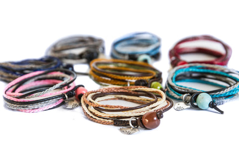 Triple Wrap Bracelet Medium