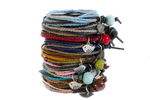 Triple Wrap Bracelet Men's