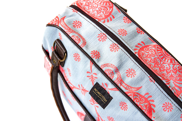 handmade, fair trade, diaper bags, ethical, made in South Africa, Conscious consumer, available in Canada, handmade baby bag, canvas baby bag, trendy diaper bags Canada, Cool Diaper bags Canada