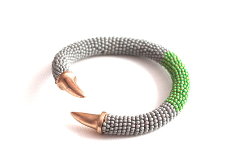 Carnivale Beaded Bangle Cool Spring