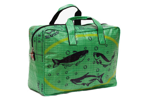 Green Fish Duffel Bag