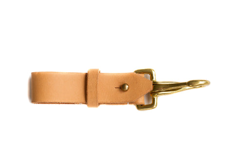 Leather Keyfob Natural