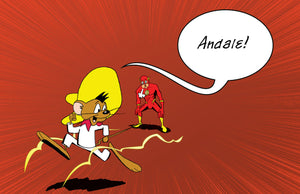 Speedy Gonzales vs The Flash | Fan Art Parody